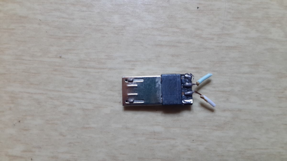 USB micro connector