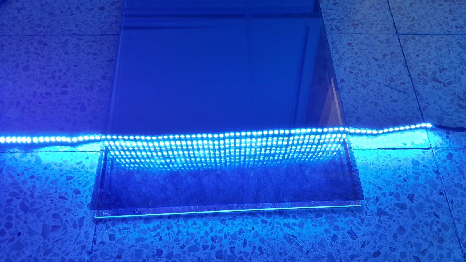 WS2812 Infinity mirror