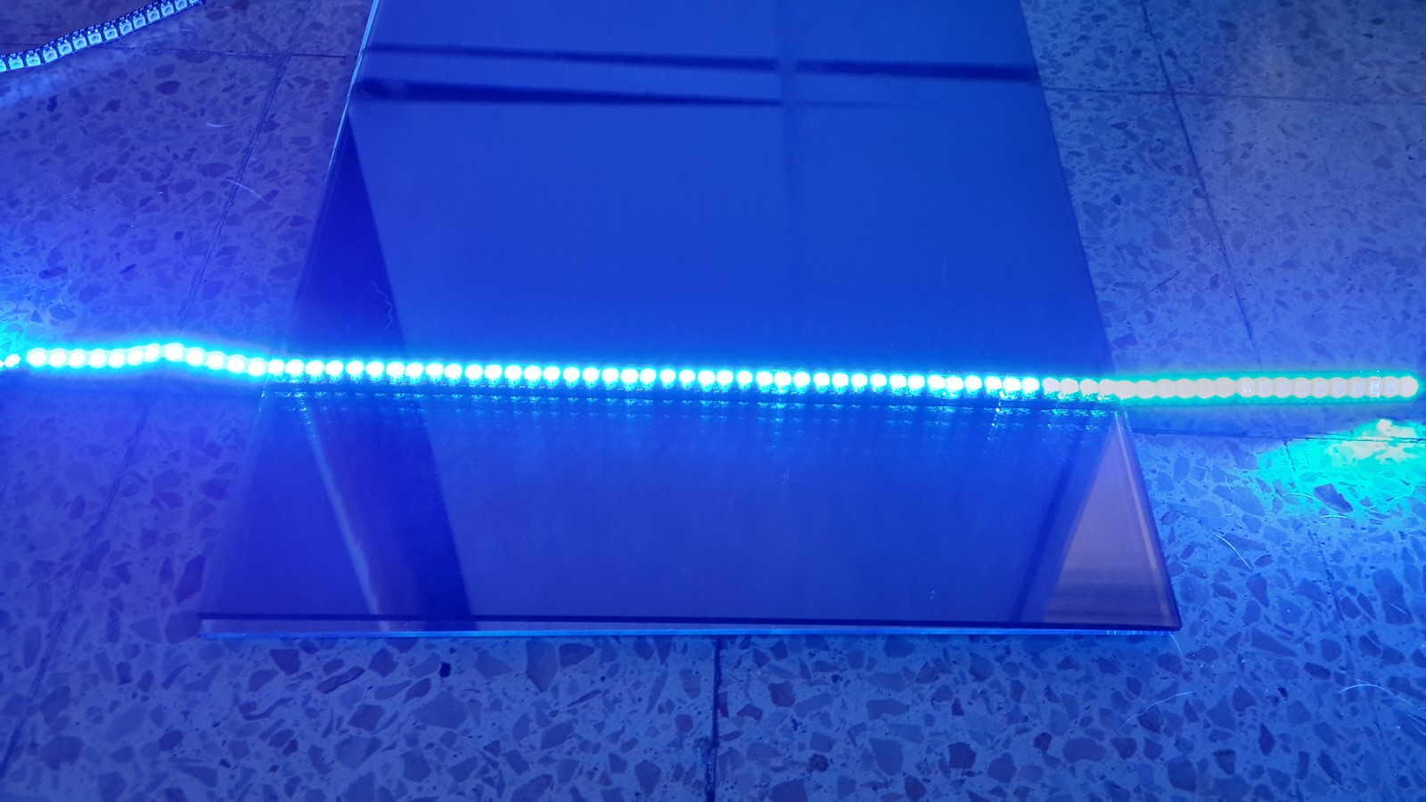 WS2812 Infinity mirror up