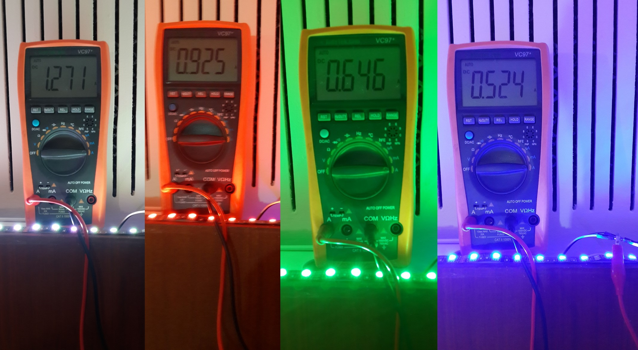 led strip first impression Currents
