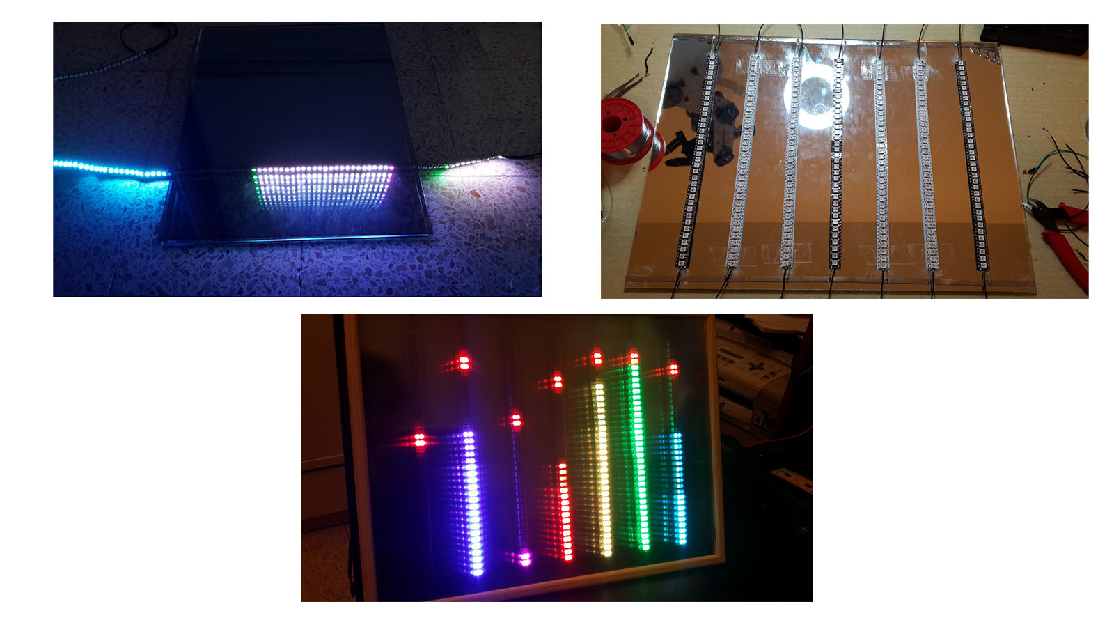 spectrum analyzer 3D display building process