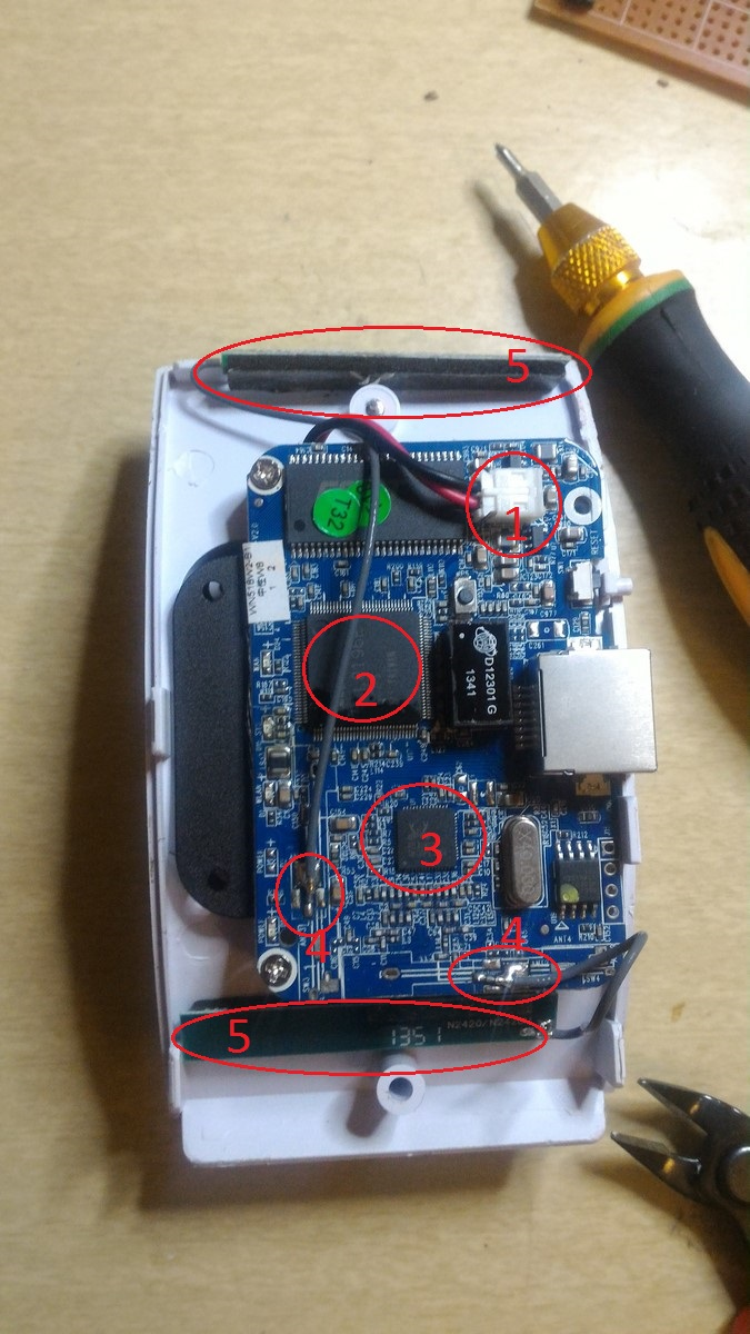 Repeater open board